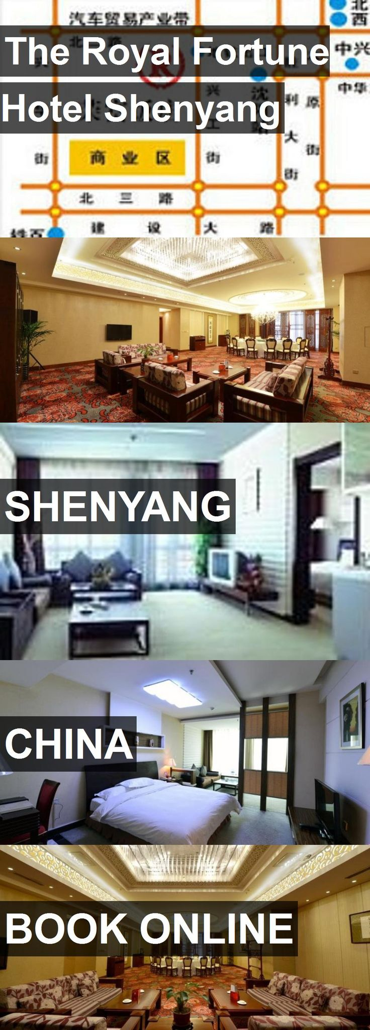 The Royal Fortune Hotel Shenyang in Shenyang, China. For more information, photos, reviews and best prices please follow the link. #China #Shenyang #travel #vacation #hotel