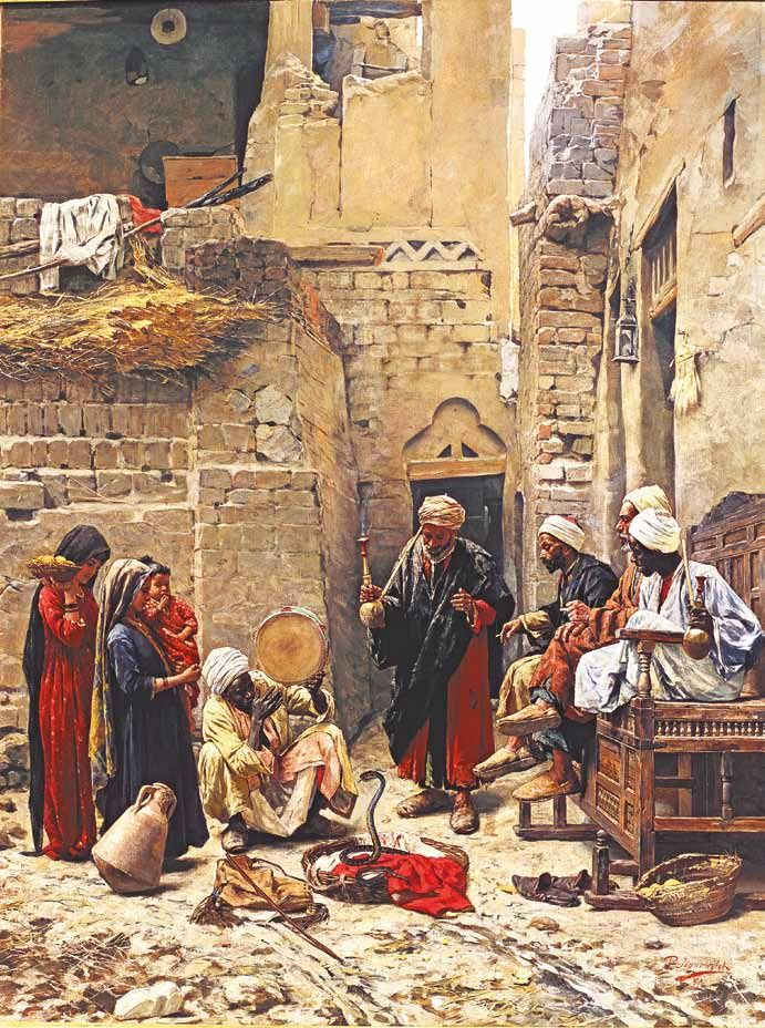 'The Snake Charmer' by Paul Joanovitch The Shafik Gabr Collection, Selected Paintings