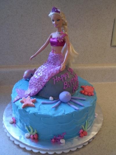 Merliah Barbie By metmom3 on CakeCentral.com