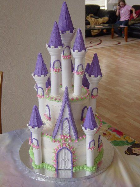 Princess Purple Birthday Cakes