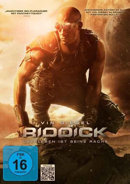Riddick (2013) Título original: Riddick (EE.UU., Reino Unido) Género: Películas > Acción / Ciencia ficción / Thriller Director: David Twohy. Duración: 119 minutos.