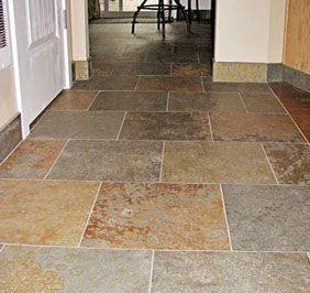 tile floor lay patterns offset square florida house pinterest