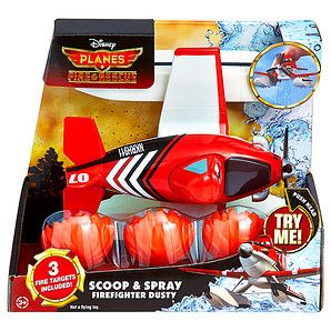 Planes Fire & Rescue Scoop And Spray Firefighter Dusty Bath Hero | Target Australia