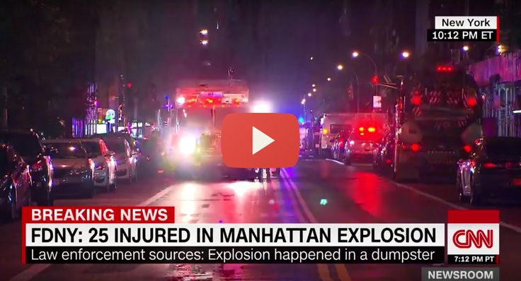 "Click here to watch: The Truth About the New York Bombing  New York Governor Andrew Cuomo says there is no international terror link suspected in a blast in Manhattan late Saturday night that injured over two dozen people. Cuomo also confirms the blast was caused by a bomb. ""At this time, there is no evidence of an international terrorism connection,"" he says, according to CNN. ""We're not going to let them instill fear, because then they would win,"" he adds, without naming any suspects…"