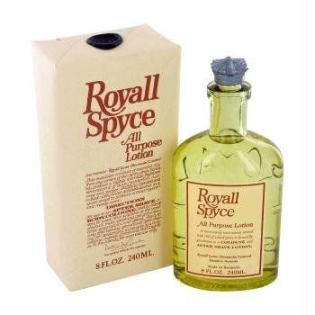 ROYALL SPYCE by Royall Fragrances All Purpose Lotion / Cologne 4 oz by Royall Fragrances. Save 41 Off!. $26.17. All Purpose Lotion / Cologne 4 oz. Royall Spyce has been a long standing classic with men first introduced in 1954 by Royall Fragrances.