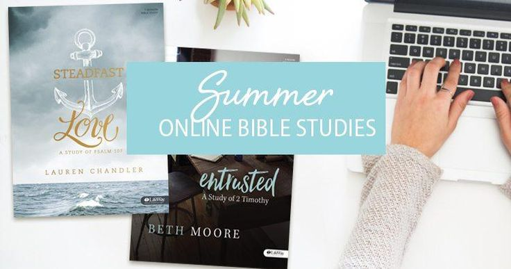 This summer, LifeWay Women is offering two Bible studies for you to choose between (or you can do both!). Study Entrusted by Beth Moore and Steadfast Love by Lauren Chandler.