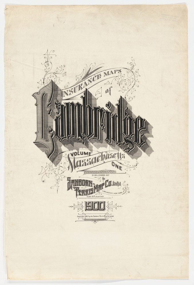 Sanborn Insurance map - Massachussetts - CAMBRIDGE (1900) #typography #lettering 25% 1409 × 2072 pixels The Typography of Sanborn New York City Maps http://annyas.com/typography-of-sanborn-new-york-city-maps/ Sanborn map company logo and lettering http://annyas.com/sanborn-map-company-logo-lettering/
