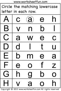 Printables Alphabet Worksheets For Preschoolers 1000 ideas about alphabet worksheets on pinterest russian letter tracing for kindergarten capital letters 26 free printabl
