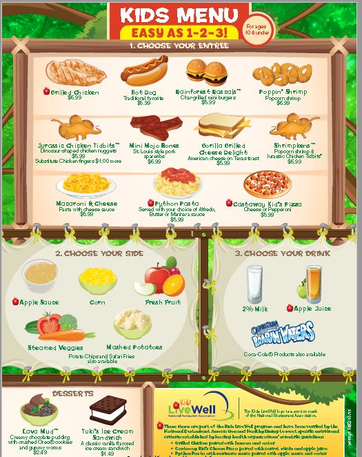 Best Kids Menu Images On   Kids Menu Children Food And