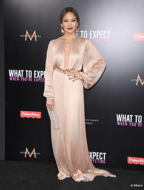 Jennifer Lopez lors de l'avant-première de Ce qui vous attend si vous attendez un enfant, le 14 mai 2012 à Hollywood.