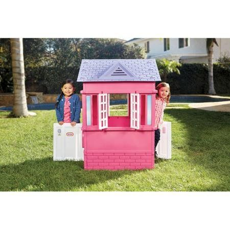 Little Tikes Children Playhouse Princess Cottage 2 Arch Door and 2 Windows with Open Shutters Brick Details Pink Warm and Cozy Contemporary Style with Mail Slot and Flag Holder  http://www.bestdealstoys.com/little-tikes-children-playhouse-princess-cottage-2-arch-door-and-2-windows-with-open-shutters-brick-details-pink-warm-and-cozy-contemporary-style-with-mail-slot-and-flag-holder/
