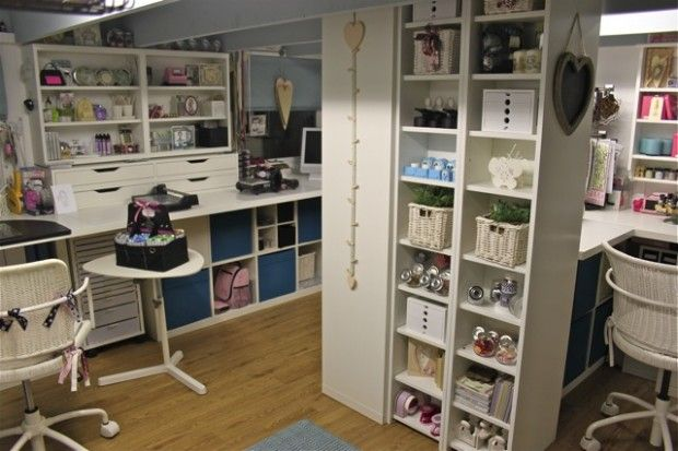Craft Room Organizer Systems: 17 Best Images About Art & Craft Studios On Pinterest