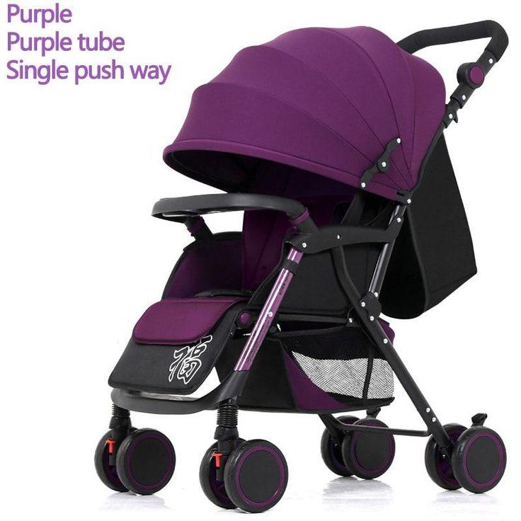 Twoway Push Baby Stroller Lightweight Baby Stroller Baby