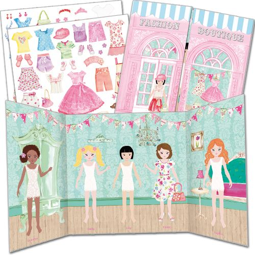 Activity Stickers Fashion Boutique £8 www.phoenixcardstracy.co.uk