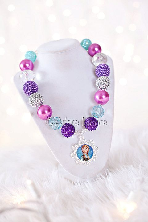 Hey, I found this really awesome Etsy listing at https://www.etsy.com/listing/171860186/princess-anna-frozen-necklace-disney