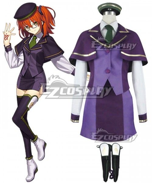d33ec2e336b Fate Grand Order Female Master Atlas Academy Uniform Cosplay Costume  #Female, #Master,