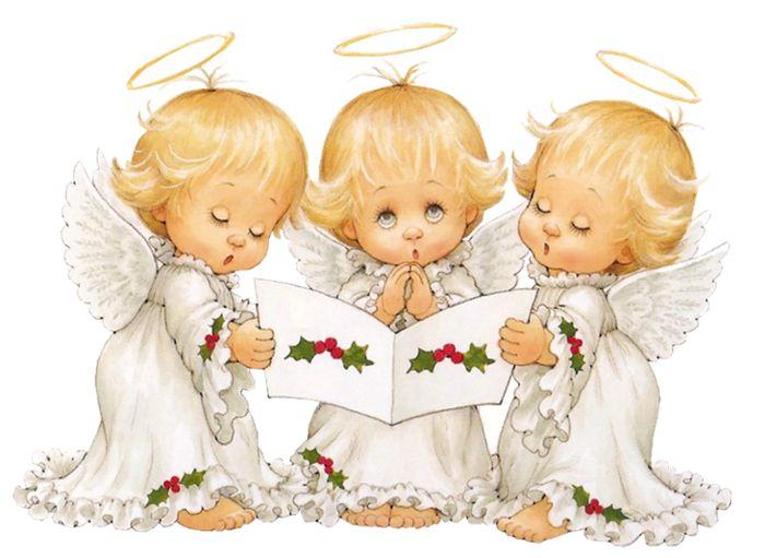 Ангелы на крещение картинки
