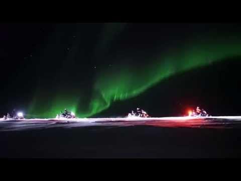 Norway Excursions - Lapland Snowmobile Trip | Hurtigruten | Hurtigruten
