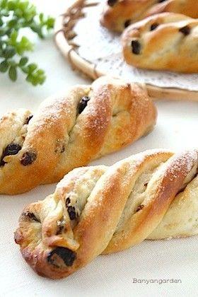 HB使用♡シュガーバターツイストパン [Sugar Butter Twist Bread]