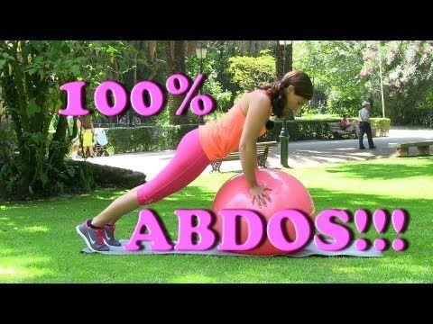 ▶ 100% abdos! Entrainement ventre plat en 10 minutes! - YouTube