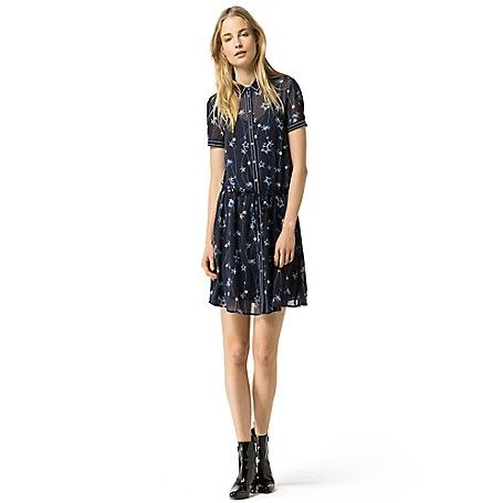 Image for STAR TATTOO DRESS from Tommy Hilfiger USA