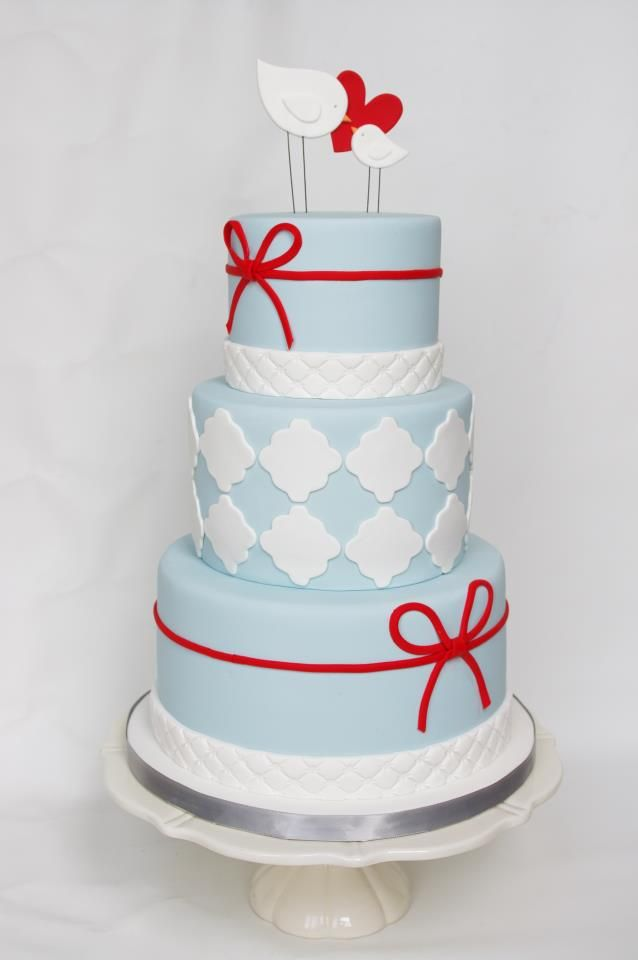 Love this Wedding Cake by Celebration Cakes!