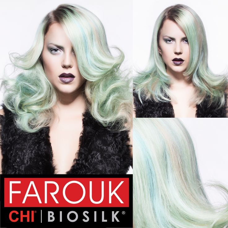 Cut Color Hair How To From Farouks Mosaic Collection