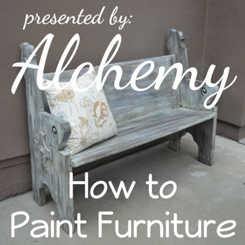 How To Create A Farmhouse Finish On Painted Furniture Using A Simple  Furniture Painting Technique. How To Paint And Distress Wood Furniture.
