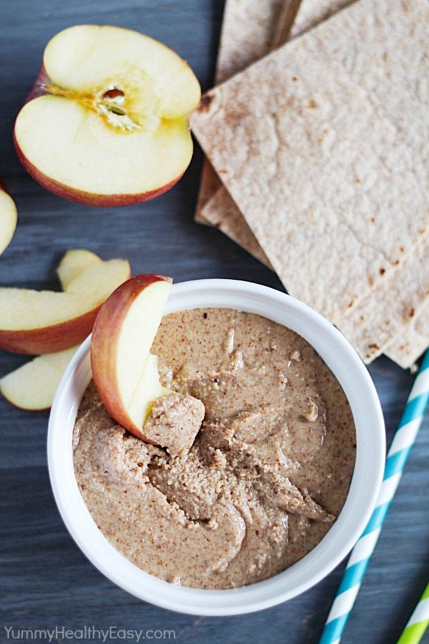 Homemade Almond Butter (Easy and healthy - like peanut butter but with almonds instead!)