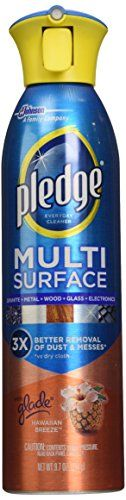Pledge Multi Surface Everyday Cleaner with Glade Hawaiian Breeze, 9.7 Ounce (Pack of 6) - http://astore.amazon.com/home_garden_tools-20/detail/B0129VJREW