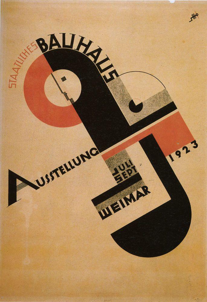 Herbert Bayer -Bauhaus Composições dinâmicas formas geomêtricas, very Kandinsky