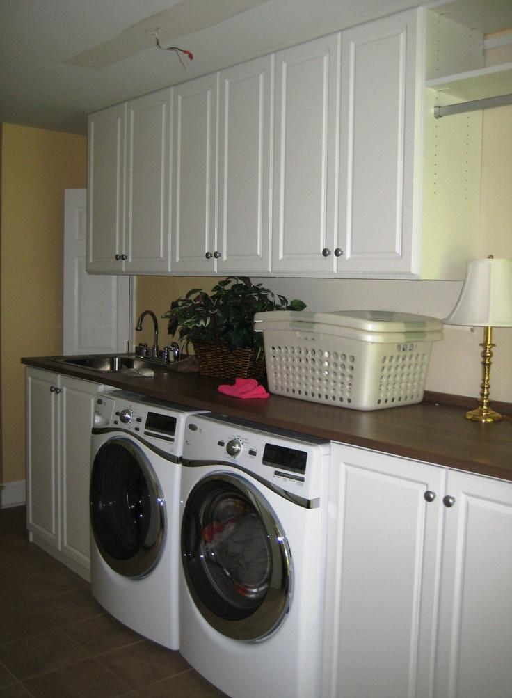 Laundry Room With Hanging U0026 Folding Space. Mud RoomsLaundry RoomsWasherCalifornia  ClosetsSpacesFarmhouse StyleBaltimorePsPhotos