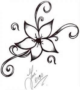 Flower Tattoo By Shizuka Donojpg