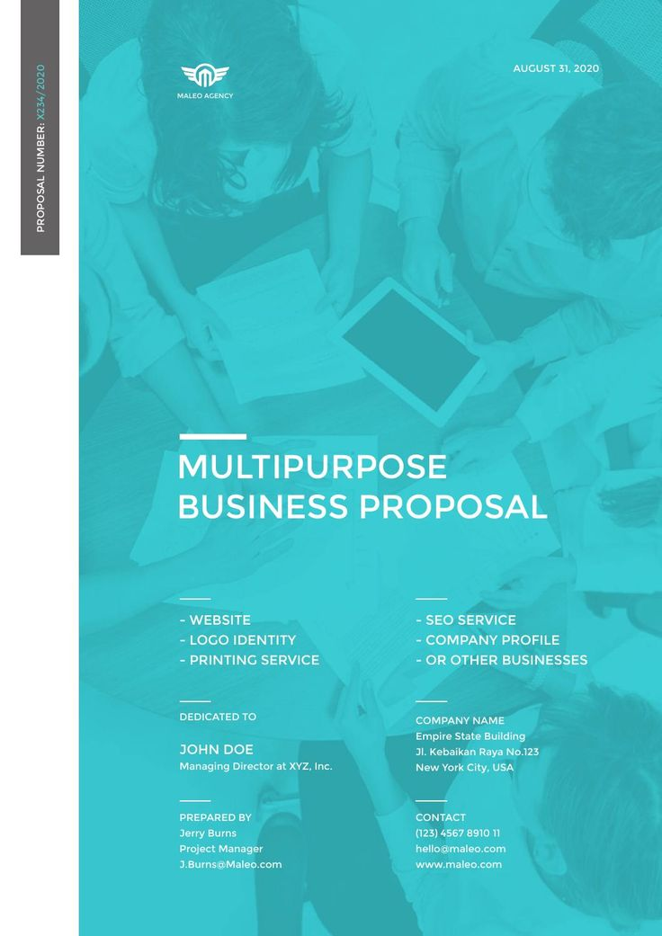 Maleo - Multi Purpose Proposal Template  You may download here http://goo.gl/UwnxPP