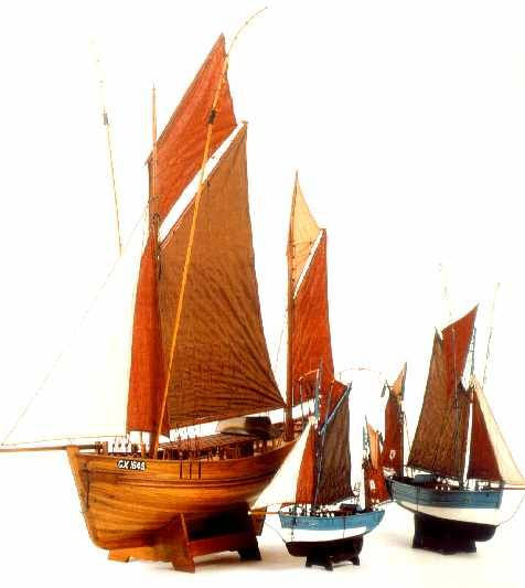 Mauritius Ships Model The Thonier