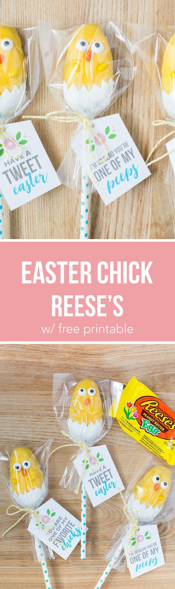 538 best easter ideas images on pinterest spring at home and easter chick treats the most adorable candy chicks made from a reeses egg these are so easy to make and the kids will love helping make these cuties negle Choice Image