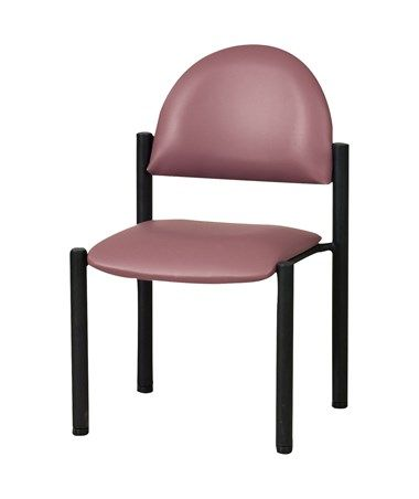 This Exam Side Chair With Wall Guard By Clinton Industries Is A Premium Seat That Will Help Your Patients Feel Relaxed And Comfortable