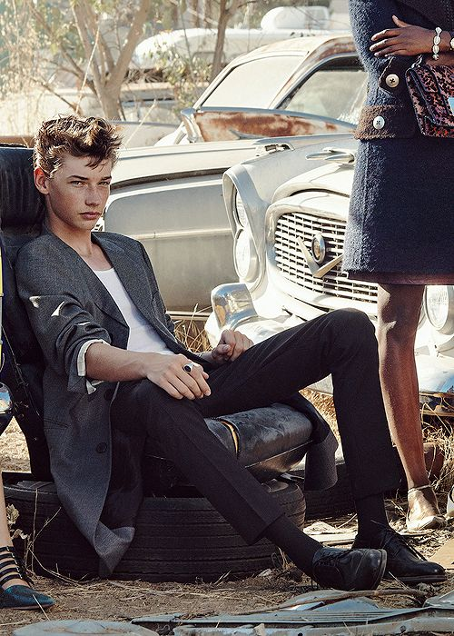 Jacob Lofland for Teen Vogue 2015 Young Hollywood what Aris no you're not supposed to be sexy go now