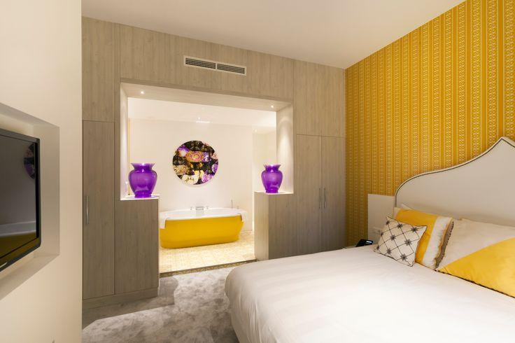 Lissabon suite in hotel van der Valk Nieuwerkerk.