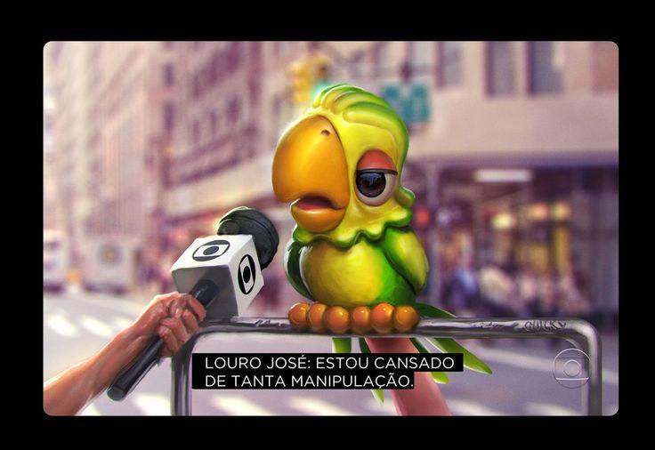 Louro Jose by fubango on DeviantArt