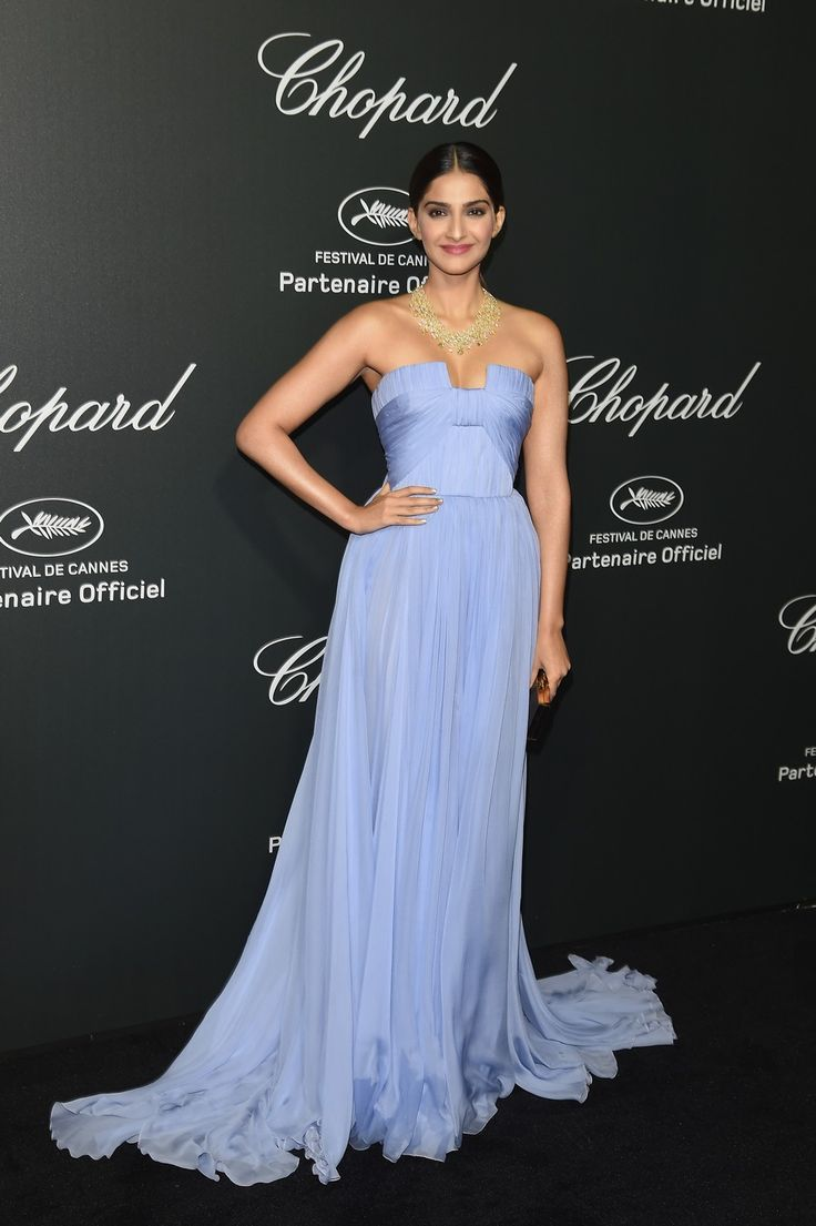 Sonam Kapoor at the Chopard after-party. #Style #Bollywood #Fashion #Beauty #Cannes2014