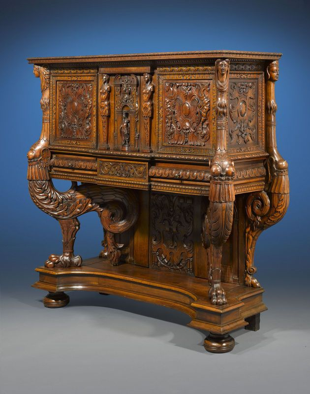 francis i renaissance sideboard from the 16th century french renaissance era this sideboards antique english country armoire circa 1830s
