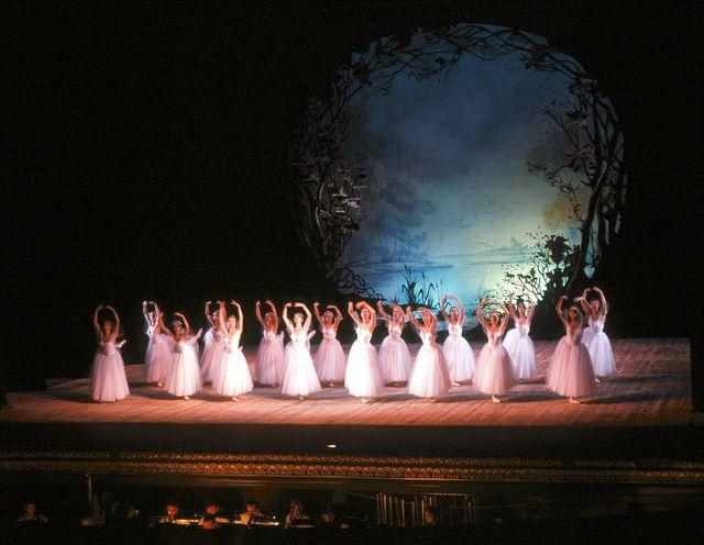 Russian ballet dancers.