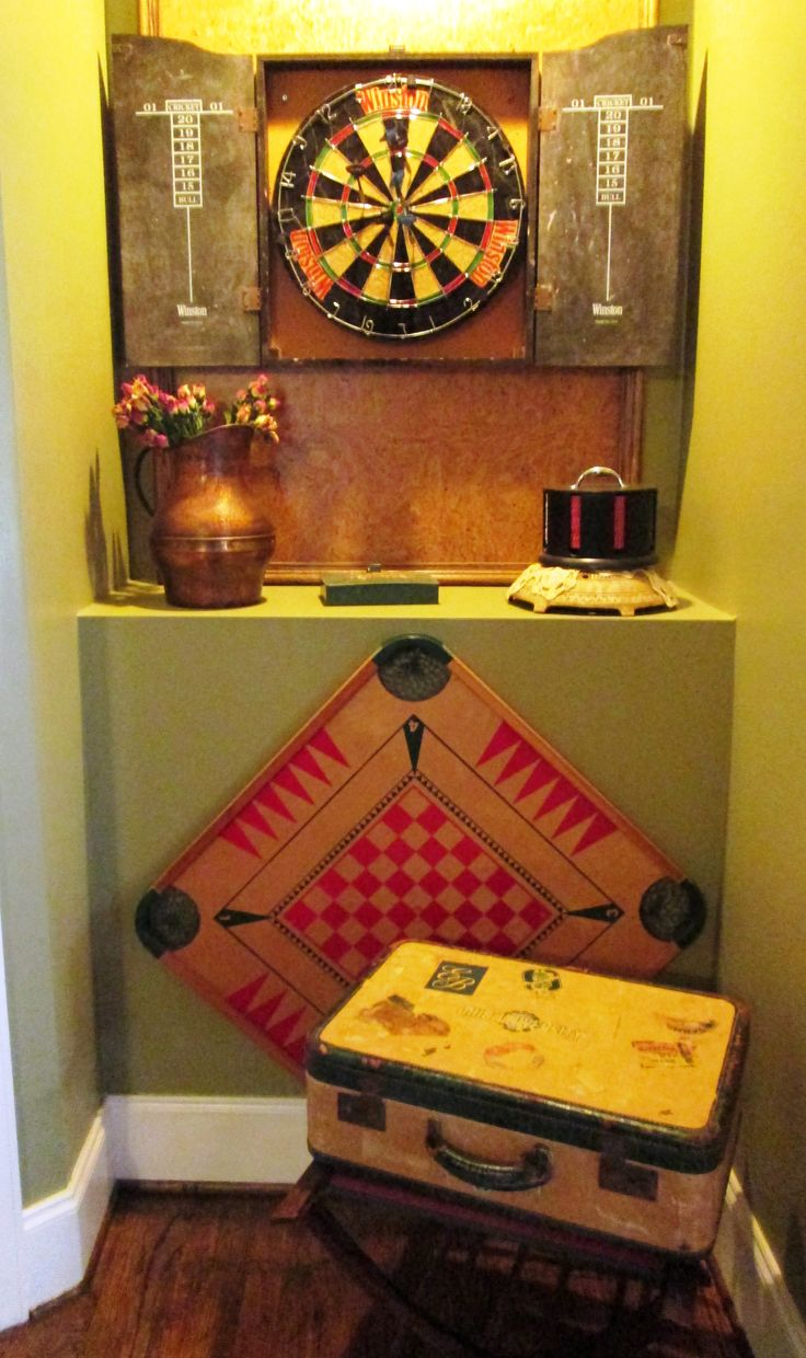 Vintage Game room Decor Home and Hearth Pinterest