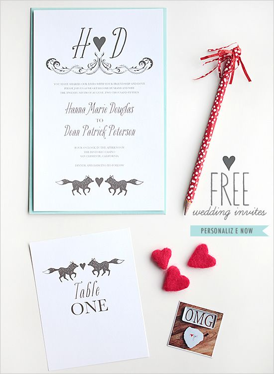 354 best Freebies \ Free Printables images on Pinterest Be my - free downloadable wedding invitation templates