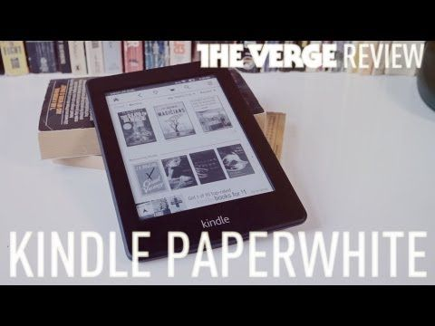 Review of Amazon Kindle Paperwhite