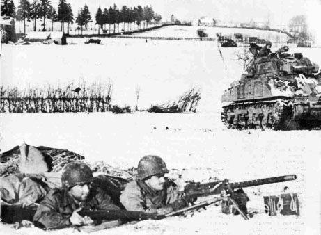 Battle of the bulge 30 cal machine gun position battle - Div in div position ...