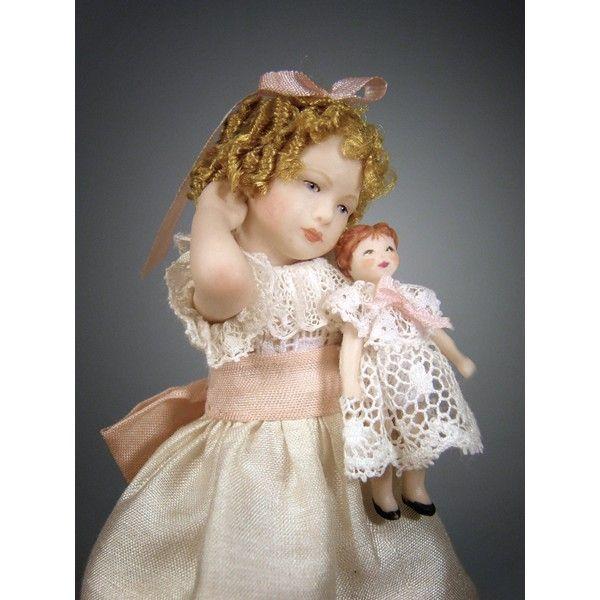 Muñecos de porcelana hechas a mano - Artesanos Felipe Royo. Miniaturas para Casas de Muñecas