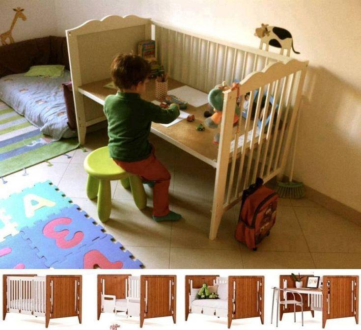 Transformation d'un lit de bébé