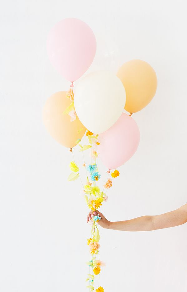 Mother's Day Flower Balloon DIY | Oh Happy Day!